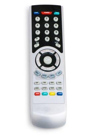 Photo pour Télécommande isolée sur fond blanc - image libre de droit