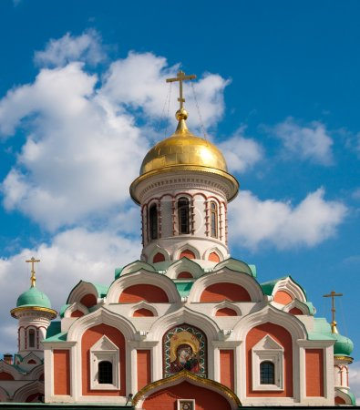 Kazan Cathedral is a Russian Orthodox church