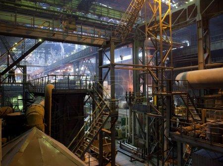 Photo pour Vue générale de l'intérieur de la zone de l'usine - image libre de droit