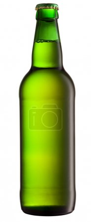 Beer Bottle with isolated