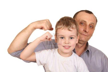 Grandfather child biceps