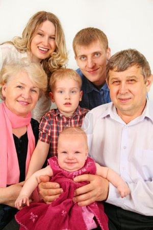 Intergenerational family