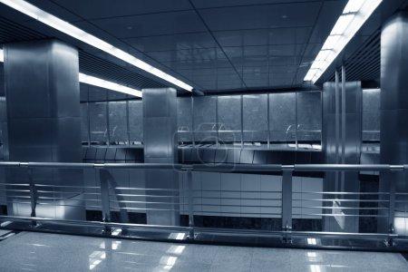 Metro lobby