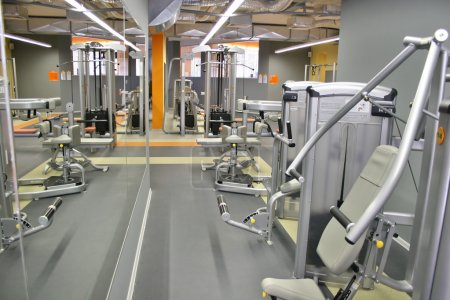 Photo for Gym interior - Royalty Free Image