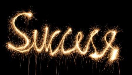 Success sparkler