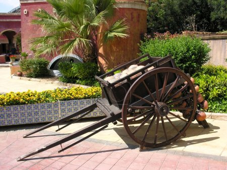 Old cart wagon