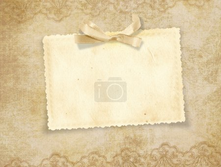 Photo pour Vintage fond avec espace pour texte ou photo pour un grand bravo donc à la fête - image libre de droit