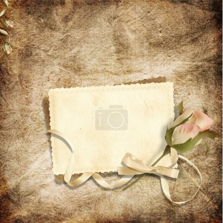 Photo for Vintage elegant background with space for text or photo for congratulation to the holiday - Royalty Free Image