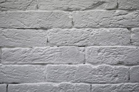 Photo for The white brick wall background - Royalty Free Image