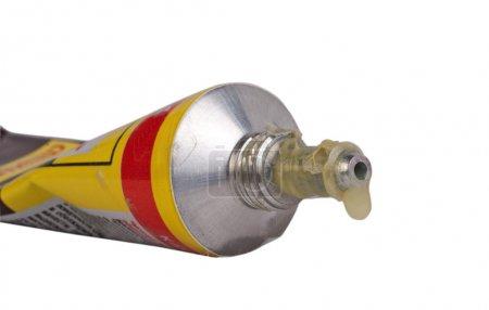 Glue container