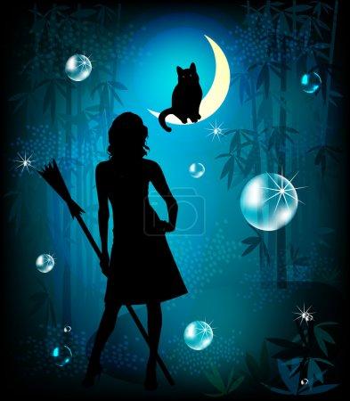 Illustration for Fantasy illustration - Royalty Free Image