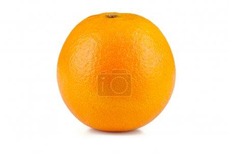Photo for Juicy orange isolated on white background - Royalty Free Image