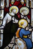 Náboženské mozaikové okno