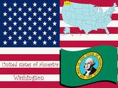 Washington state illustration