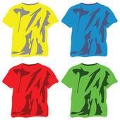 Košile kolekce proti bílé