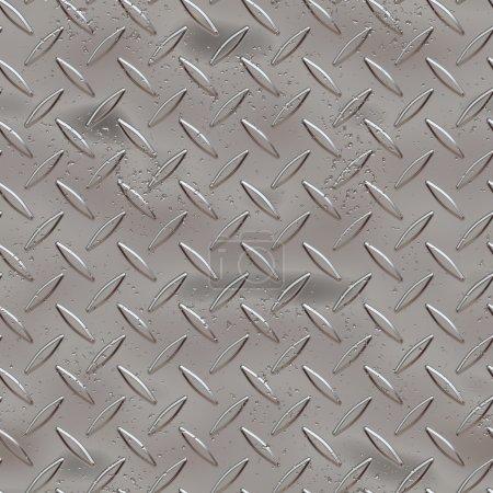 texture métal plaque transparente