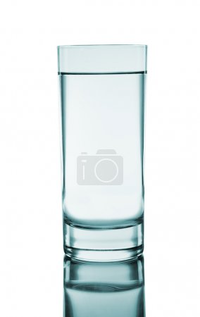 Photo for Mineral water being poured into a glass - Royalty Free Image