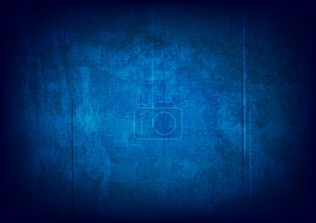 Illustration for Grunge abstract background - vector eps 10 - Royalty Free Image