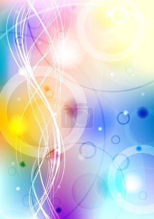 Vibrant background - eps 10