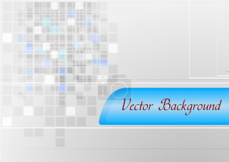 Grey and blue tech background