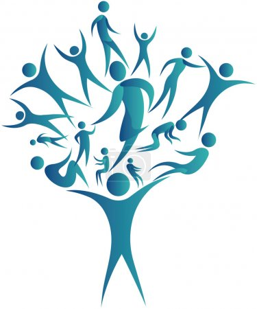 Human networking tree