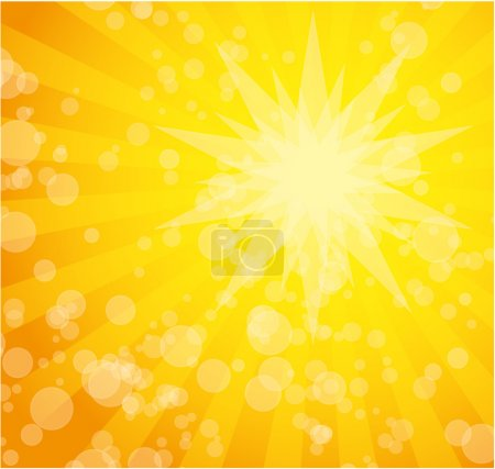 Illustration for Sunny abstract background eps10 - Royalty Free Image
