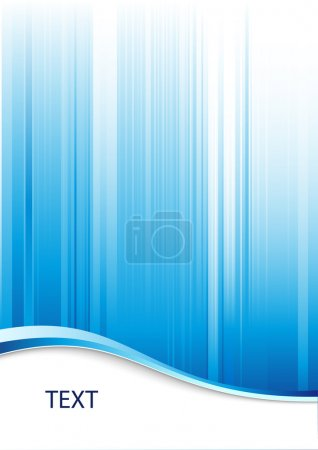 Photo for Blue abstract background with place for text - Royalty Free Image