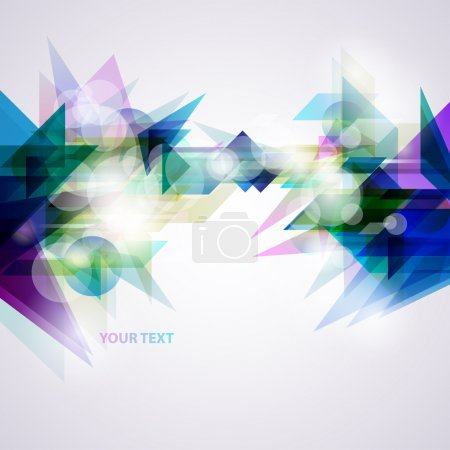 Illustration for Abstract blue background. - Royalty Free Image