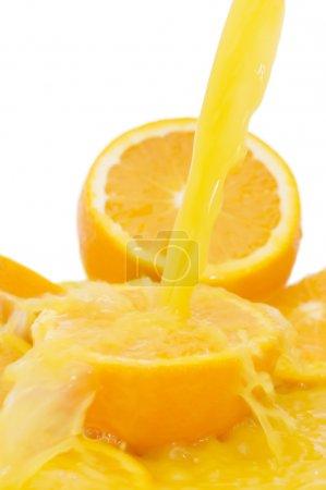 Photo pour Jus d'orange frais - image libre de droit