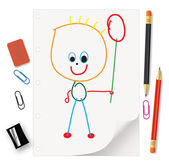 Kids' drawings - a gift for Mom and Dad