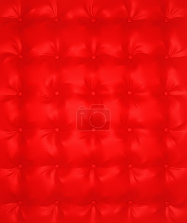 Red Luxury buttoned leather pattern