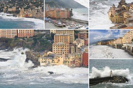 Camogli sea storm collection