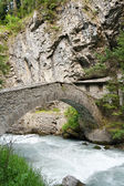 Antique bridge in Pre Saint Didier