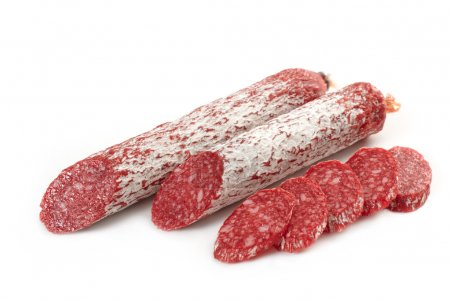 Photo for French salami - Royalty Free Image