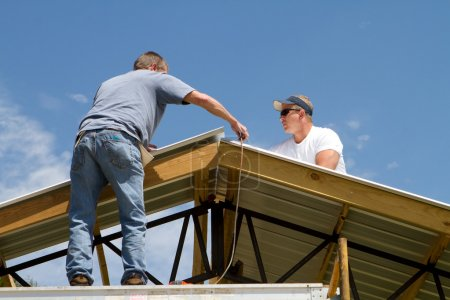 Roofing Construction Workers