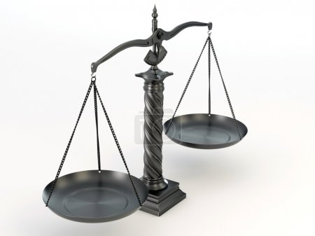 Symbol of justice. Scale