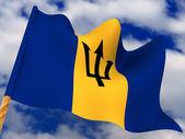 Flag. Barbados