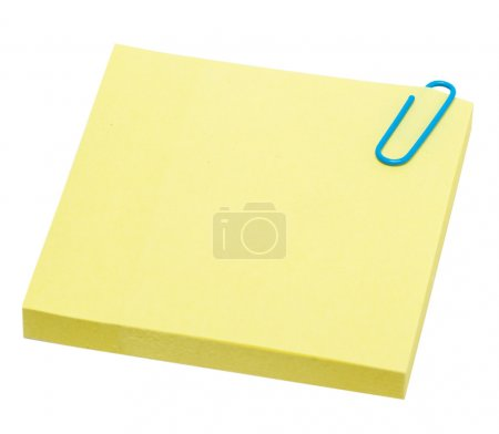 Yellow pages of notebook