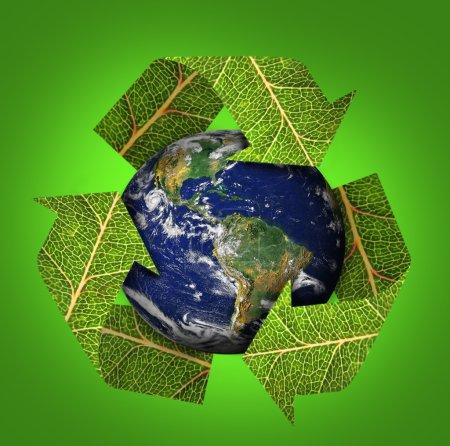 Photo pour Terre Eco vert - image libre de droit