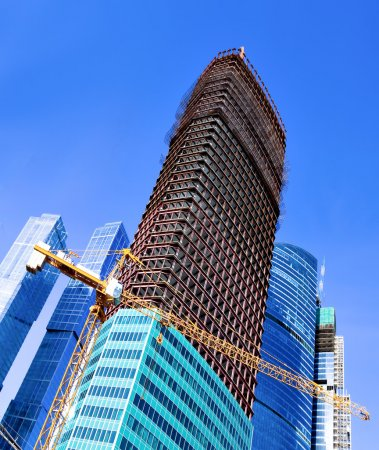 Construction of multistory building