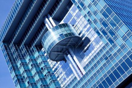 Foto de Nuevo edificio de oficinas en el centro de negocios - Imagen libre de derechos