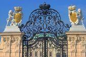 Schonbrunn Palace gates in Vienna