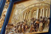 """Постер, картина, фотообои """"двери собора во Флоренции, Италия"""""""