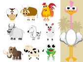 Collection of cute animal