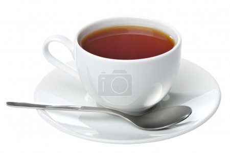 Photo for Cup of tea isolated - Royalty Free Image