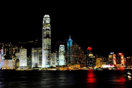 Night view of Hongkong