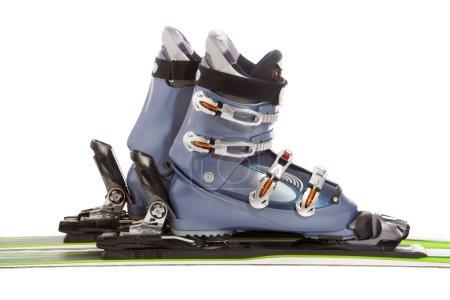 Ski and boot