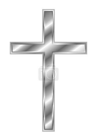 Silver Christian Cross