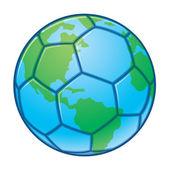 Planeta Země Světový pohár fotbalový míč