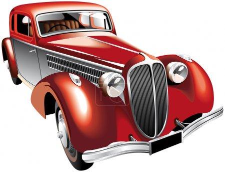 Luxurious vintage car